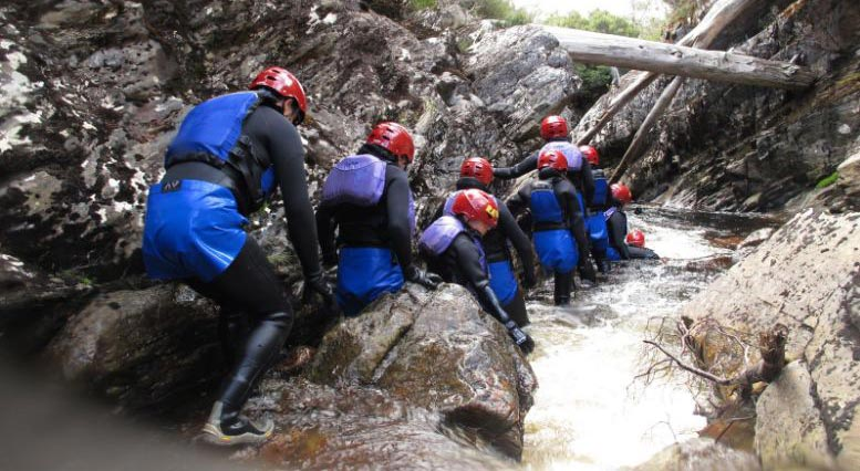 Tasmania Half Day Cradle Mountain Canyoning: Lost World Canyon